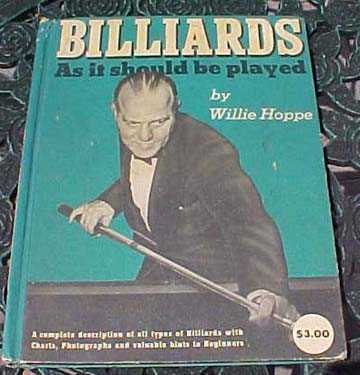 willie hoppe billiards as it should be played