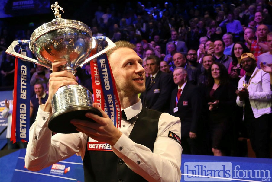 Judd Trump becomes snooker's 11th member of the Triple Crown club
