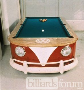 WV Micro Bus Pool Table by Mike Farruggia 1