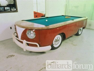 WV Micro Bus Pool Table by Mike Farruggia 2