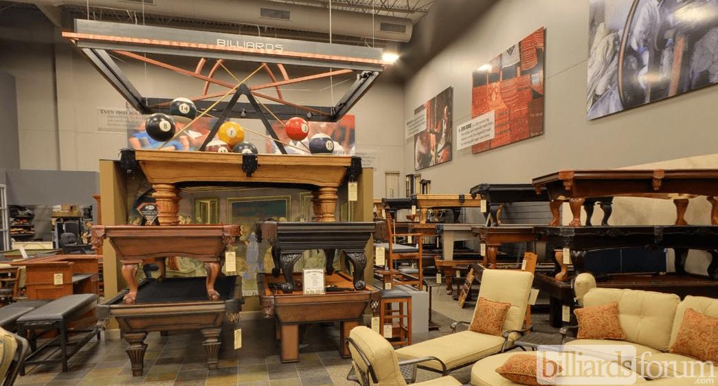 Aminiu0027s Galleria Chesterfield, MO Billiards Section