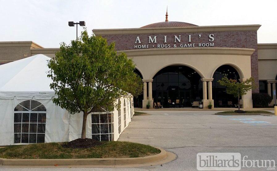 Aminiu0027s Galleria Chesterfield, MO Tent Sale