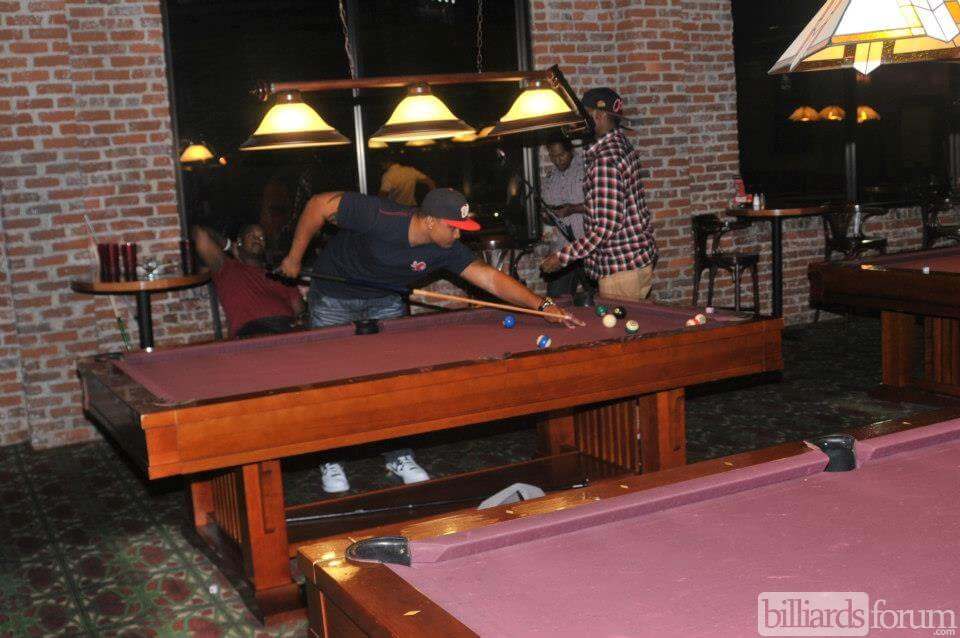 Shooting Pool Barleyu0027s Billiards Atlanta, GA