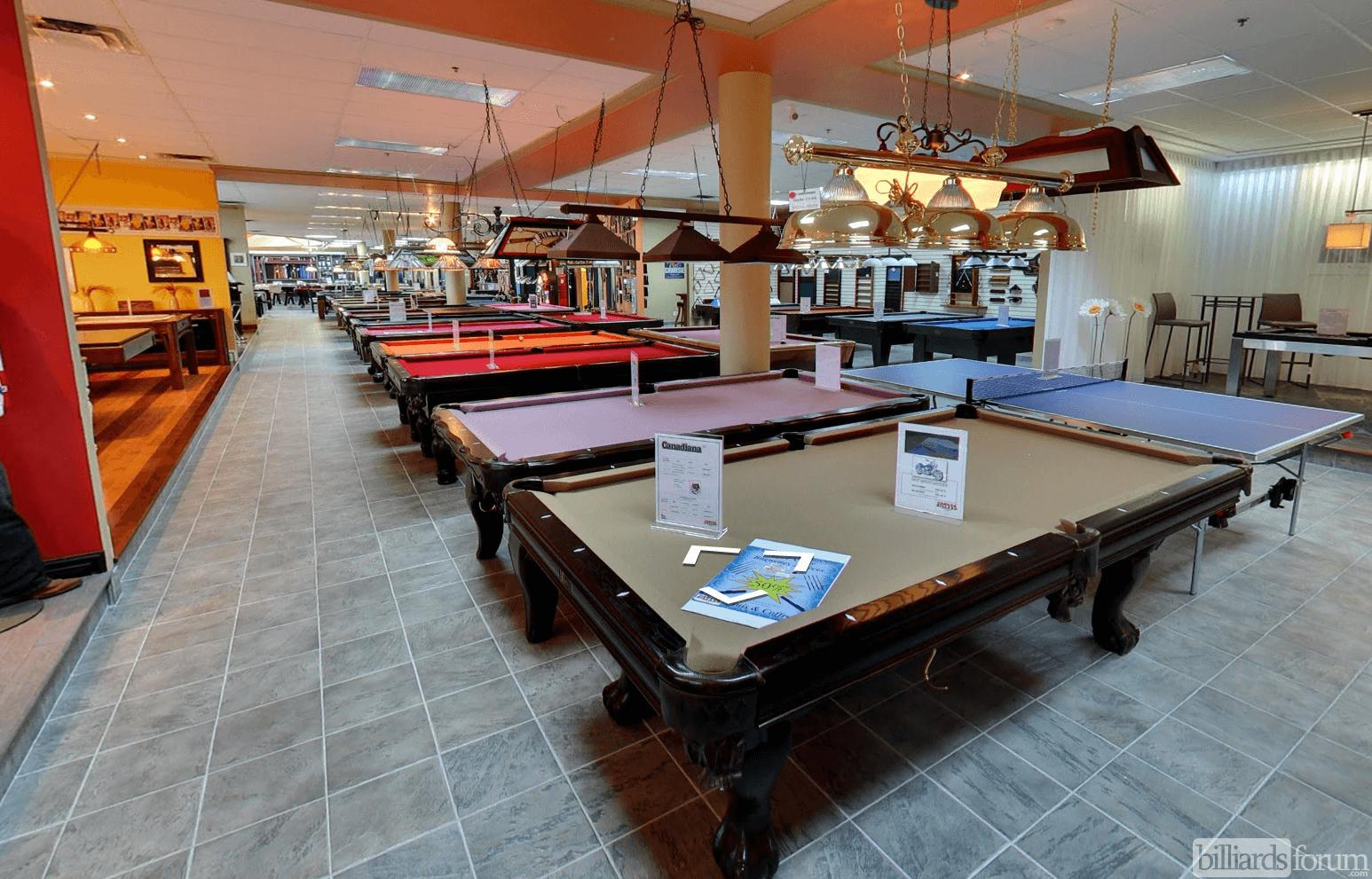 Pool Tables At Canada Billiard U0026 Bowling Inc. Laval, ...
