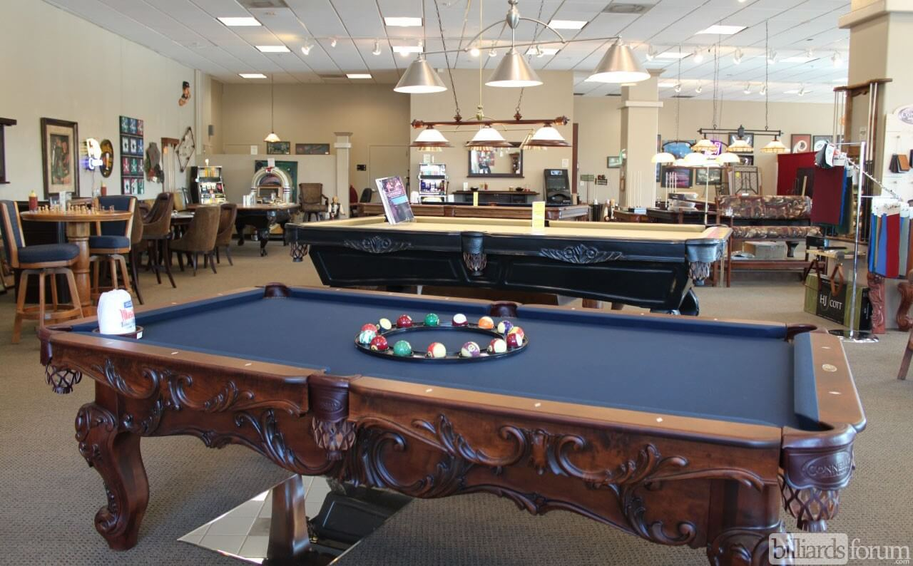 Connelly Billiard Game Room Furnishings Phoenix - Connelly billiards pool table
