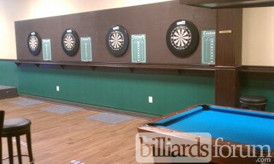 Gate City Billiards Club Greensboro, NC Darts