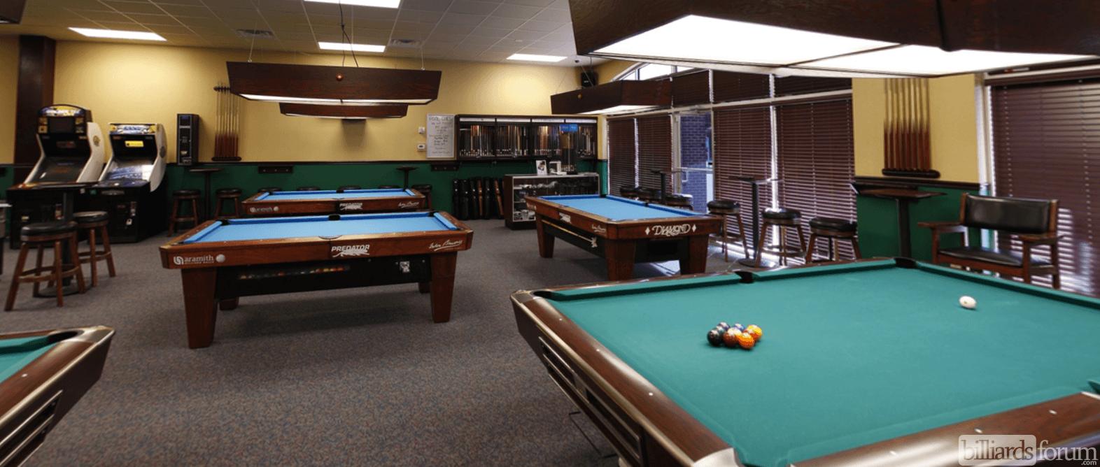 Pool Tables At Gate City Billiards Club Greensboro, NC