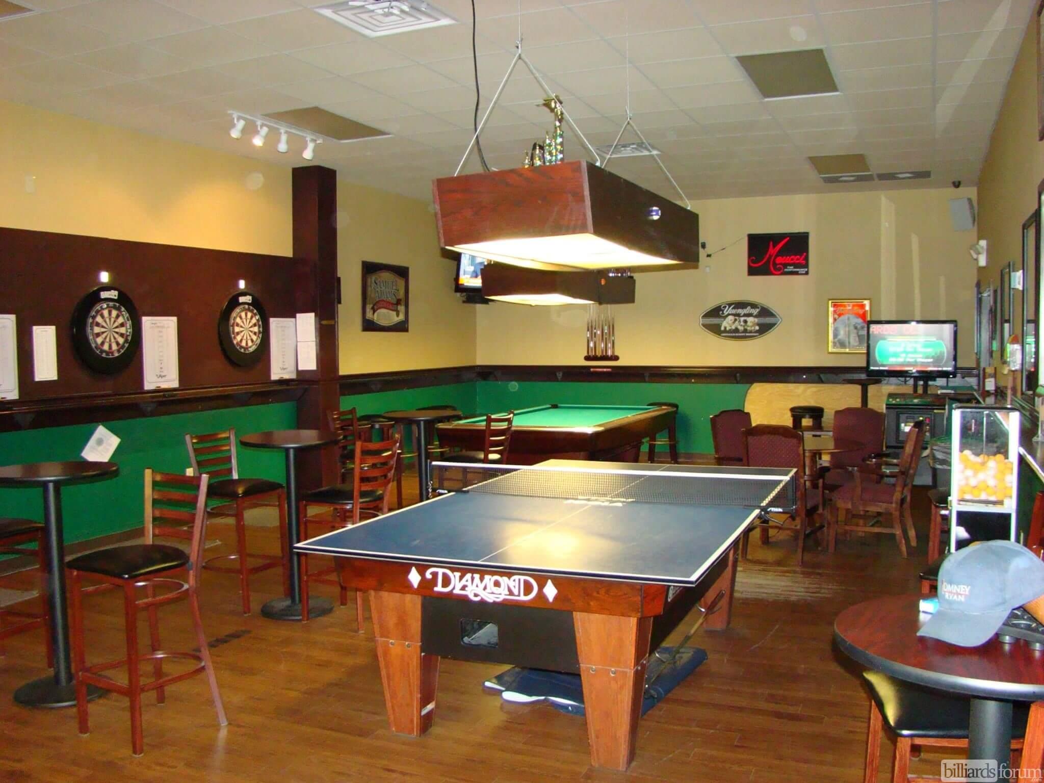 Table Tennis At Gate City Billiards Club Greensboro, NC