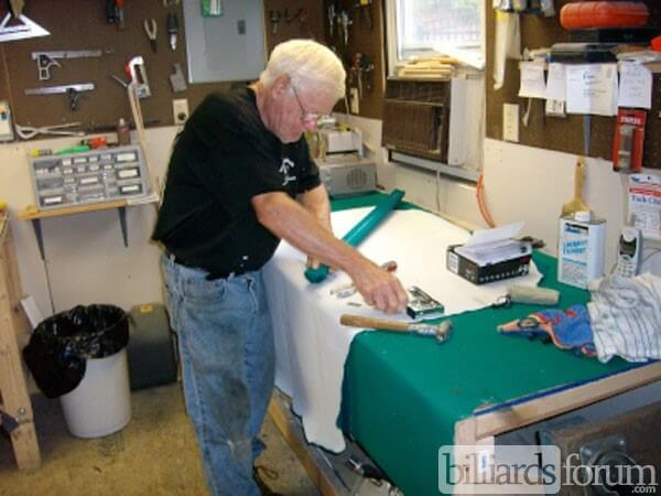 Pool Table Repair Service : George young pool table service east taunton