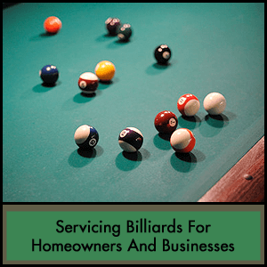 Midwest Pool Table Services Plymouth - Billiard table services