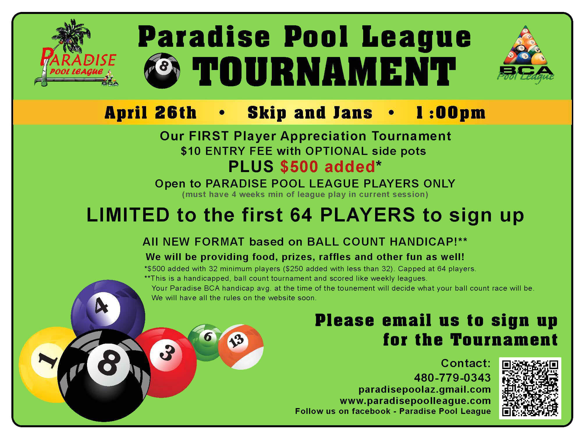 Paradise Pool League Phoenix