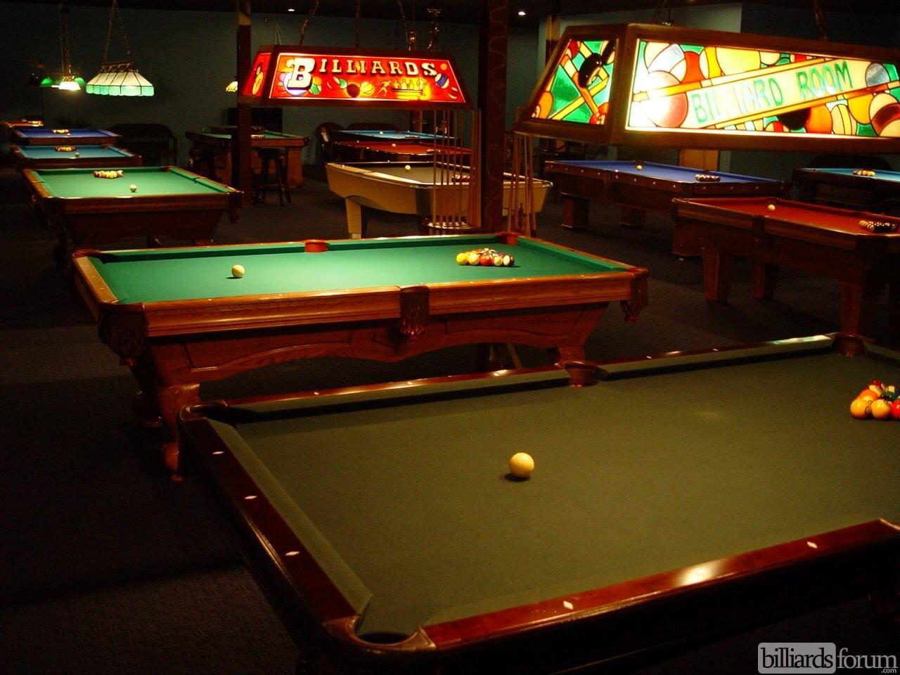 Pool Tables At Rack U0026 Roll Billiards Hall Of Washington, NJ