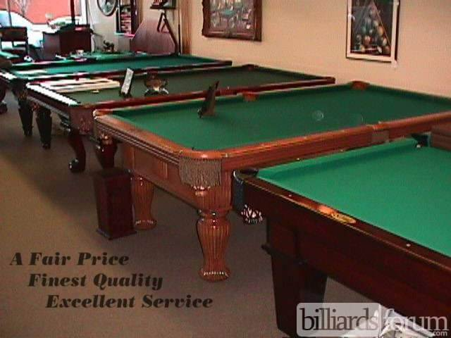 The Bedford Co Pool Tables Overland Park - Inside a pool table