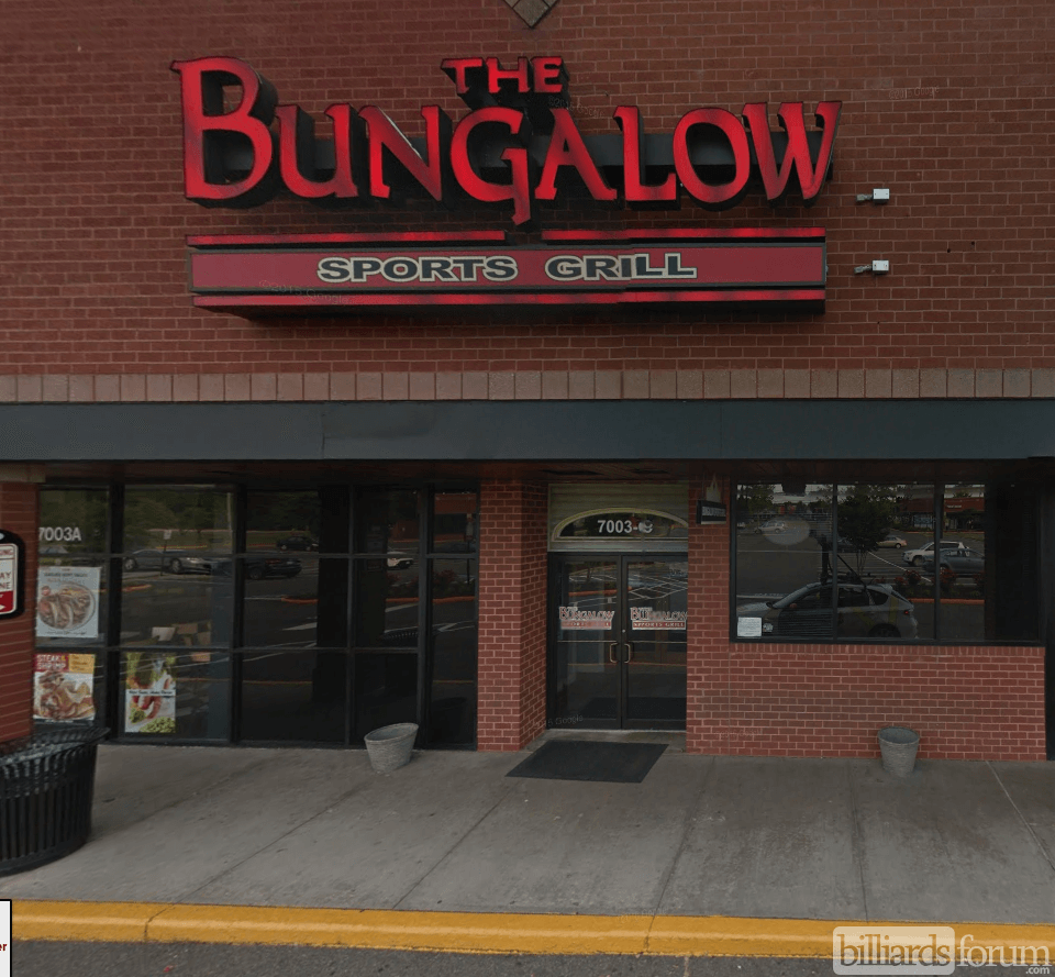 Good Bungalow Billiards Part - 2: The Bungalow Sports Grill Alexandria, VA Storefront