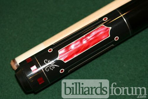 BMC Candy Apple Red Pool Cue