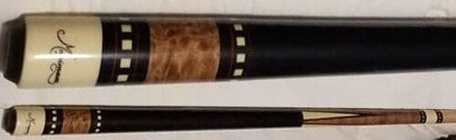 Meucci Q-05 pool cue incorrectly marked as a Maximum cue