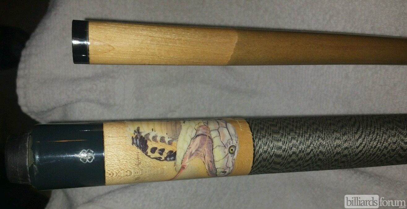 McDermott EL6 Cobra Cue by Doughty 4