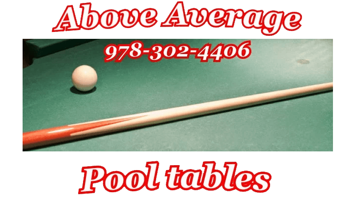 Above Average Pool Tables Leominster MA