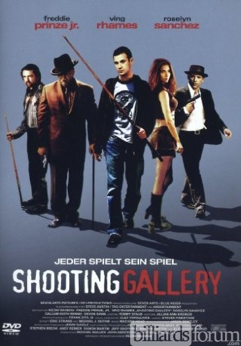 Billiard Movie Shooting Gallery with Freddie Prinze Jr.