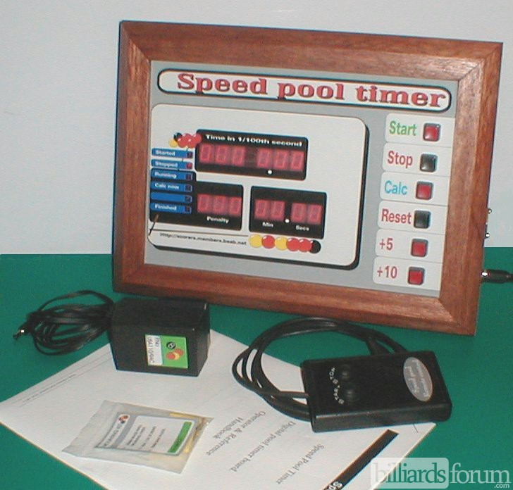 Electronic Billiard Speed Pool Timer