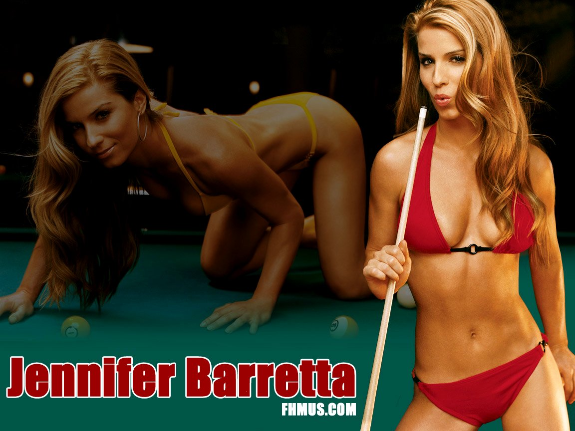May 2004 FHM US With Jennifer Barretta