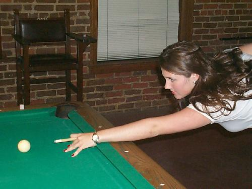 Melanie Ann Gilmer Pool Player