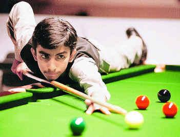 Pankaj Advani's Billiard Shot