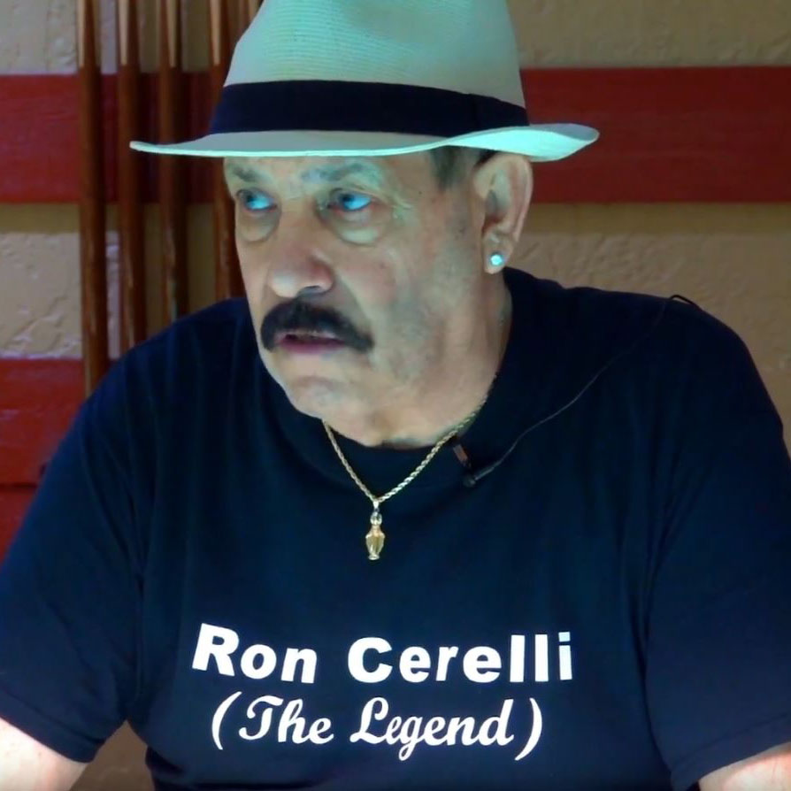 Ron Cerelli Pool Player