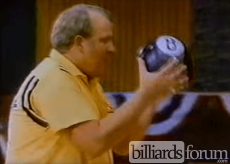 Steve Mizerak Bowling with 8 Ball in Miller Lite Commercial