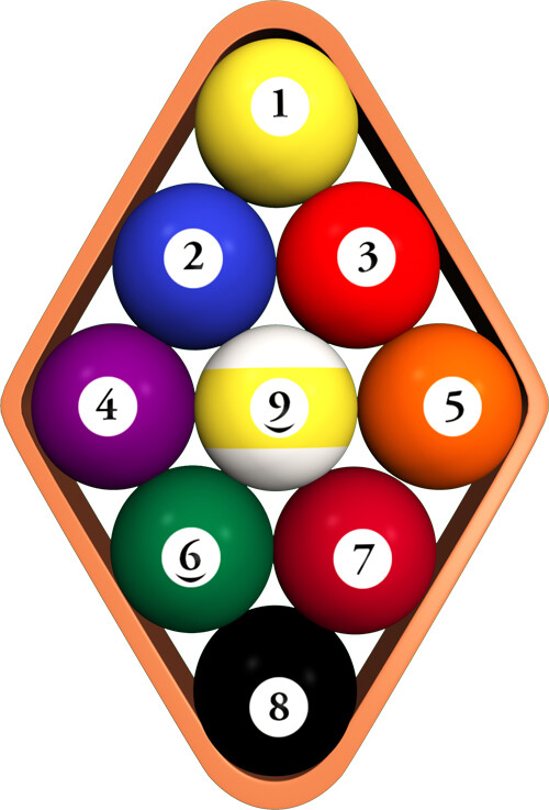 How to Rack the Balls in 9 Ball Rules