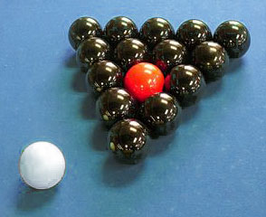 How to rack in scratchball billiards