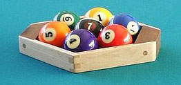 How to rack in 7 Ball Billiards
