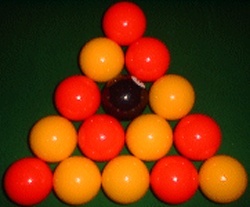 How to rack balls in UK 8 ball