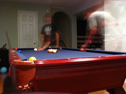 American Home Billiard Room