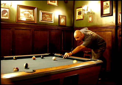 Backroom Pool Hall Mammoth California