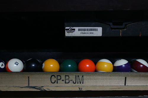 Ball Return Tray System CP B JM