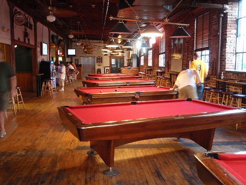 Barleys Upstairs Pool Hall Knoxville Tn