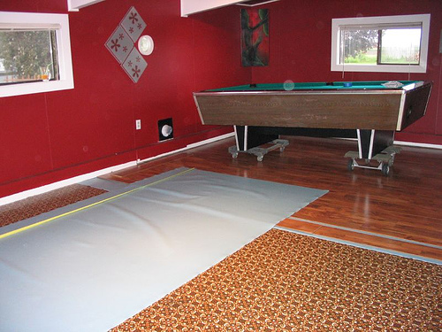Billiard Room Flooring