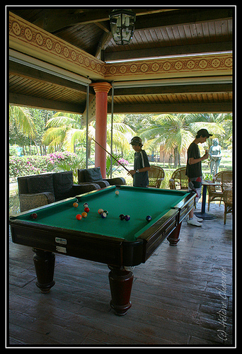 Billiard Room In Holguin, Cuba