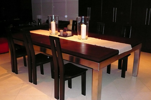 Billiard table dining table conversion for Pool table dining room table