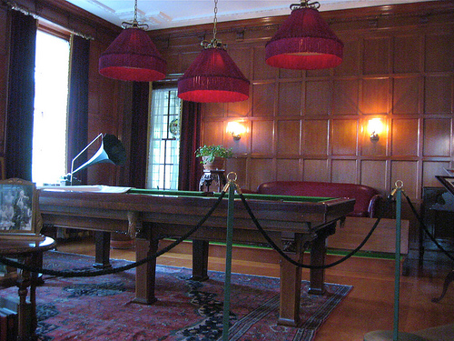 Eastman Billiard Room 1910