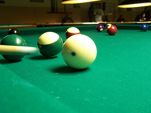 Low Grade Pool Table Cloth