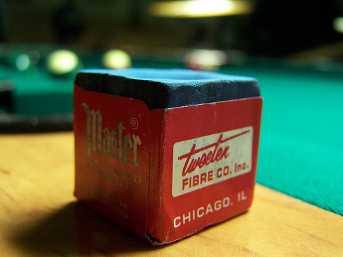 Master Billiard Chalk By Tweeten Fibre Co