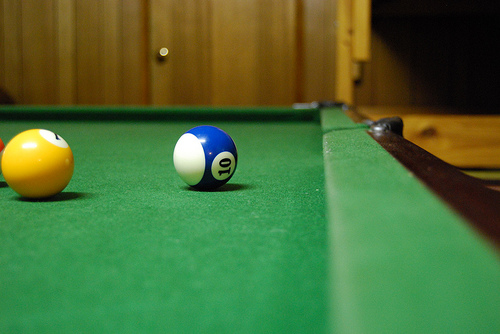 Matching The Wood Color On A Billiard Table