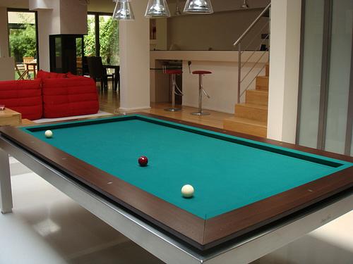 Modern Style Home Billiard Room