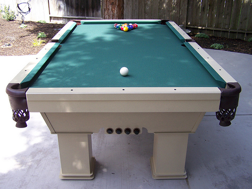Outdoor Billiard Table Custom Caesar