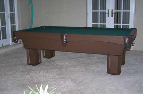 Outdoor Pool Table in West Palm Beach