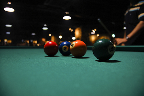 Playing Billiards Saves You Money