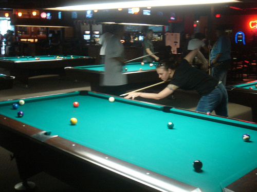Shooting Some Pool In Duluth GA