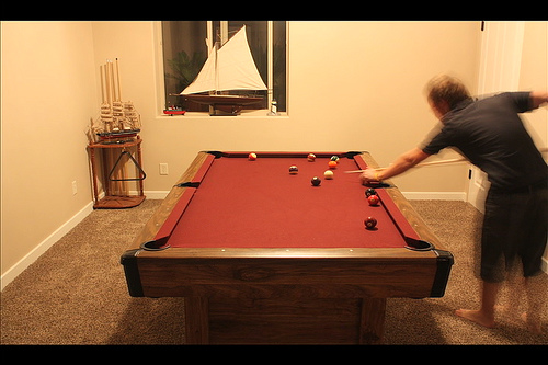 Small Home Billiard Room in Utah